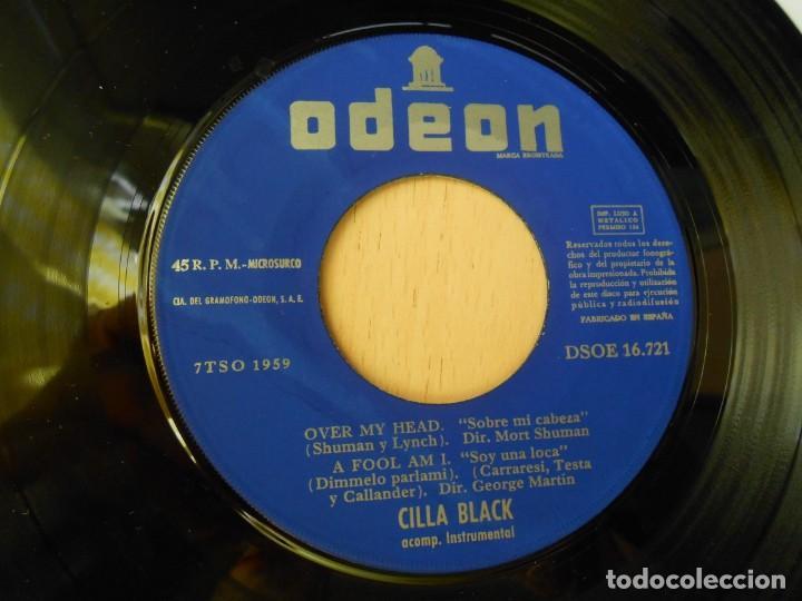 Discos de vinilo: CILLA BLACK, EP, WHAT GOOD AM I ? + 3, AÑO 1967 - Foto 4 - 270343163