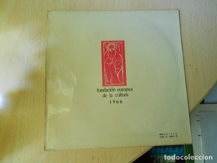 Discos de vinilo: FUNDACION EUROPEA DE LA CULTURA 1966, EP, JOHNNY HALLYDAY - CABELLOS LARGOS + 3, AÑO 1966 - Foto 2 - 270345023