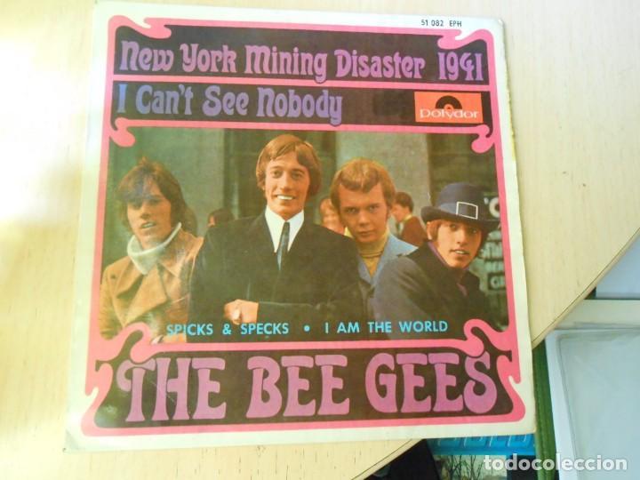 BEE GEES, THE,, EP, NEW YORK MINING DISASTER 1941 + 3, AÑO 1967 (Música - Discos de Vinilo - EPs - Pop - Rock Internacional de los 50 y 60)