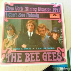 Discos de vinilo: BEE GEES, THE,, EP, NEW YORK MINING DISASTER 1941 + 3, AÑO 1967. Lote 270346118