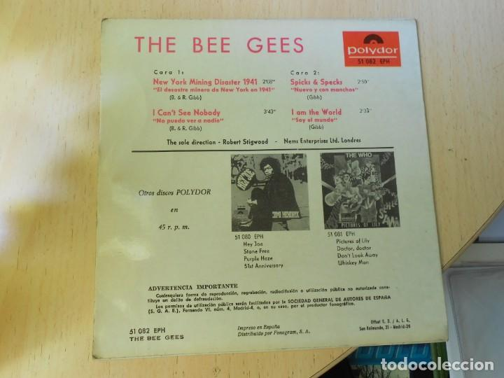 Discos de vinilo: BEE GEES, THE,, EP, NEW YORK MINING DISASTER 1941 + 3, AÑO 1967 - Foto 2 - 270346118