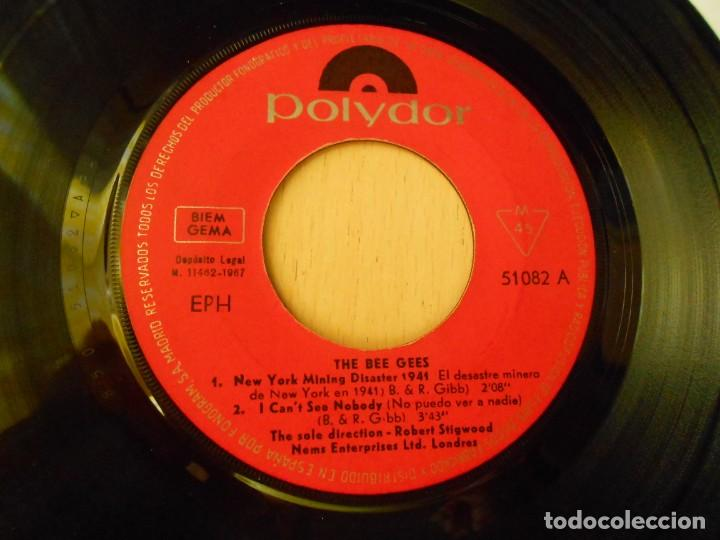 Discos de vinilo: BEE GEES, THE,, EP, NEW YORK MINING DISASTER 1941 + 3, AÑO 1967 - Foto 3 - 270346118