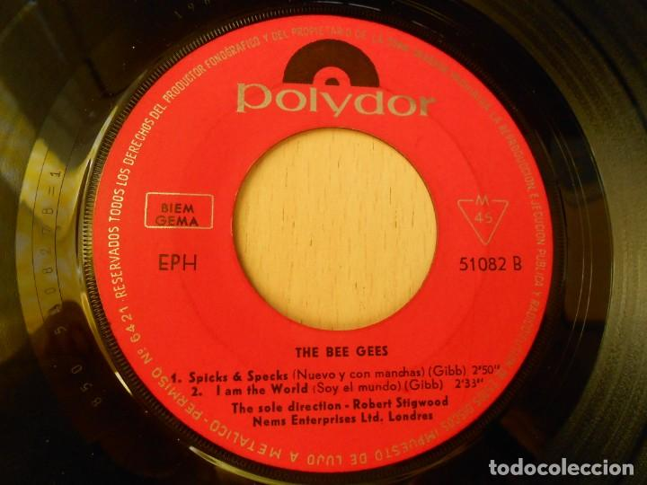 Discos de vinilo: BEE GEES, THE,, EP, NEW YORK MINING DISASTER 1941 + 3, AÑO 1967 - Foto 4 - 270346118