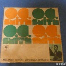 Discos de vinilo: DISCO 7 PULGADAS FUNK SOUL ACUSA CIERTO USO O.C. SMITH LITTLE GREAN APPLES CBS. Lote 270347568