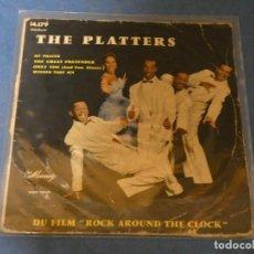Discos de vinilo: DISCO 7 PULGADAS EP ESTADO TOLERABLE THE PLATTERS MY PRAYER NO HAY DISCO SOLO TAPA. Lote 270348013