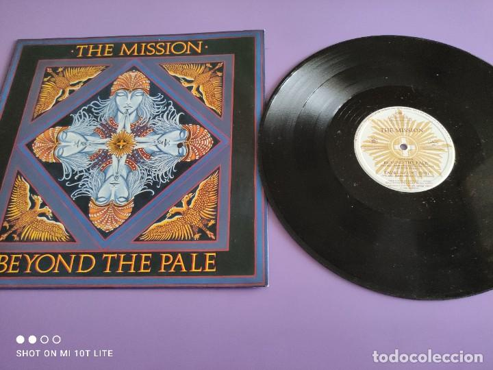 JOYA MAXI. THE MISSION - BEYOND THE PALE. UK. 1988. SELLO MERCURY MYTHX6. (Música - Discos de Vinilo - Maxi Singles - Pop - Rock - New Wave Internacional de los 80)
