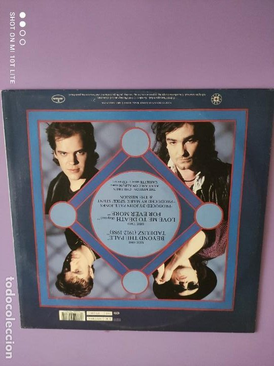 Discos de vinilo: JOYA MAXI. THE MISSION - BEYOND THE PALE. UK. 1988. SELLO MERCURY MYTHX6. - Foto 4 - 270350978