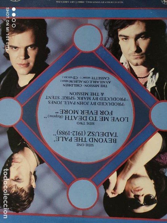 Discos de vinilo: JOYA MAXI. THE MISSION - BEYOND THE PALE. UK. 1988. SELLO MERCURY MYTHX6. - Foto 5 - 270350978