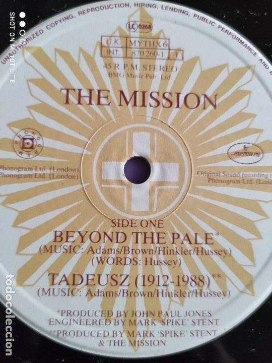 Discos de vinilo: JOYA MAXI. THE MISSION - BEYOND THE PALE. UK. 1988. SELLO MERCURY MYTHX6. - Foto 7 - 270350978