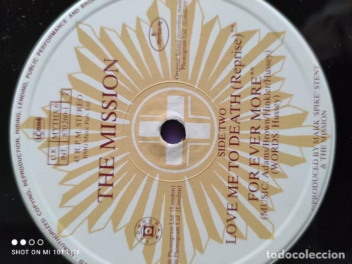 Discos de vinilo: JOYA MAXI. THE MISSION - BEYOND THE PALE. UK. 1988. SELLO MERCURY MYTHX6. - Foto 8 - 270350978