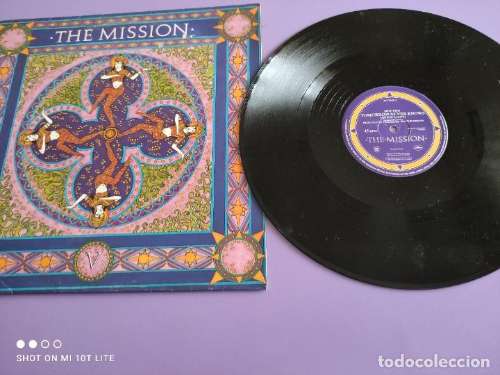 DIFICIL . MAXI. THE MISSION . SEVERINA. AÑO 1987. SELLO MERCURY MYTHX 3. UK. (Música - Discos de Vinilo - Maxi Singles - Pop - Rock - New Wave Internacional de los 80)
