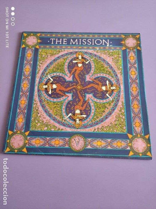 Discos de vinilo: DIFICIL . MAXI. THE MISSION . SEVERINA. AÑO 1987. SELLO MERCURY MYTHX 3. UK. - Foto 2 - 270354238