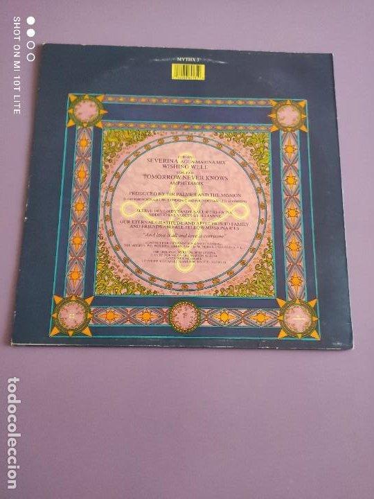 Discos de vinilo: DIFICIL . MAXI. THE MISSION . SEVERINA. AÑO 1987. SELLO MERCURY MYTHX 3. UK. - Foto 4 - 270354238