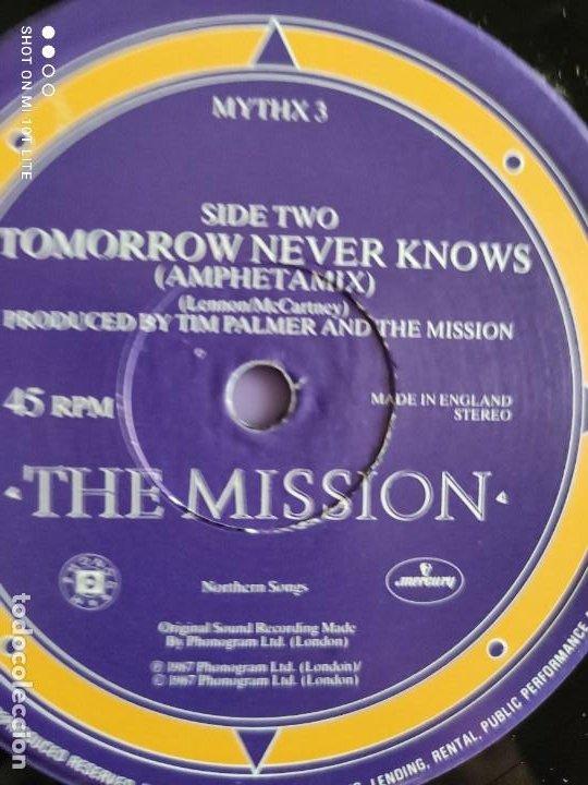 Discos de vinilo: DIFICIL . MAXI. THE MISSION . SEVERINA. AÑO 1987. SELLO MERCURY MYTHX 3. UK. - Foto 6 - 270354238