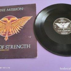 Discos de vinilo: RARO MAXI. THE MISSION / TOWER OF STRENGTH. IMPORTACION UK. AÑO 1987. SELLO MERCURY MYTHX 422.. Lote 270355618