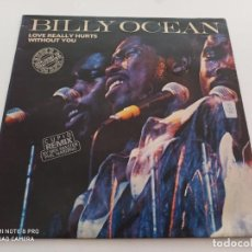 """Discos de vinilo: BILLY OCEAN - LOVE REALLY HURTS WITHOUT YOU (12"""", MAXI). Lote 270356223"""