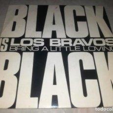 Discos de vinilo: LOS BRAVOS-BLACK IS BLACK-ORIGINAL ESPAÑOL 1973. Lote 270370638
