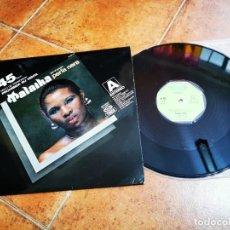 Discos de vinilo: PERLA NERA MALAIKA / ACCIDENTAL LOVER LOVE AND KISES MAXI SINGLE VINILO PROMO 1977 ESPAÑA 2 TEMAS. Lote 270373768