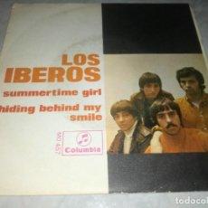 Discos de vinilo: LOS IBEROS-SUMMERTIME GIRL-ORIGINAL AÑO 1968. Lote 270373883