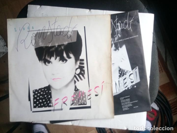 LINDA RONSTADT FRENESI 1992 LP (Música - Discos - LP Vinilo - Pop - Rock - Internacional de los 70)