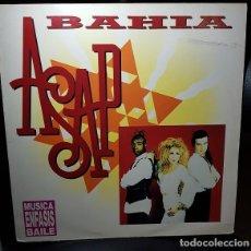 Discos de vinilo: ASAP BAHIA VINILO 12 MAXI 45RPM SINGLE ENFASIS RECORDS 1992-ESPAÑA - ELECTRONICA, TECHNO - VINILO VG. Lote 270387198