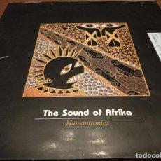 "Discos de vinilo: HUMANTRONICS – THE SOUND OF AFRIKA. KONGA MUSIC – CX-123. 12"" . VINILO BUEN ESTADO. NEAR MINT / VG. Lote 270393388"