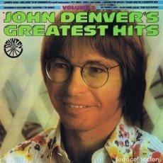 """Discos de vinilo: """"JOHN DENVER'S GREATEST HITS VOLUME 2""""- LP PROMOCIONAL SPAIN 1977. Lote 270395403"""