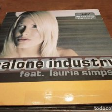 Discos de vinilo: MALONE INDUSTRY FEAT. LAURIE SIMPSON – DOLLY (DO YOU THINK I'M CRAZY?) MOSTIKO MO-0186. VG+++ / VG. Lote 270396783