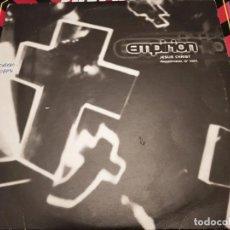 "Discos de vinilo: EMPIRION – JESUS CHRIST XL RECORDINGS – XLT 67 DJ 2X10"", PROMO 1995 ,UK. VG+ / VG+. Lote 270397523"