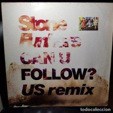 Discos de vinilo: STONEFUNKERS CAN U FOLLOW? (US REMIX) VINILO 12 MAXI 45RPM SINGLE WEA 1991-EUROPA - HIP HOP, POP RAP. Lote 270398328