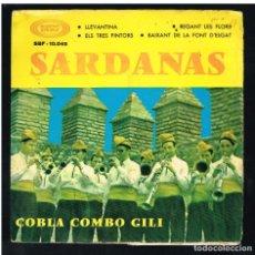 Discos de vinilo: COBLA COMBO GILI - SARDANAS - LLEVANTINA + 3 - EP 1967 - PORTADA DOBLE - SOLO PORTADA SIN VINILO. Lote 270401503