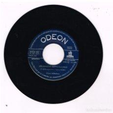 Discos de vinilo: LOS CINCO BILBAINOS - AÑORANZAS SIETECALLERAS / HAY UN PARAJE EN BILBAO - SINGLE 1958 - SOLO VINILO. Lote 270404278