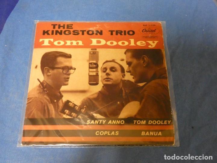 DISCO 7 PULGADAS EP ESPAÑOL FOLK MUY BONITO THE KINGSTON TRIO TOM DOOLEY MUY BUEN ESTADO (Música - Discos - LP Vinilo - Jazz, Jazz-Rock, Blues y R&B)