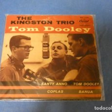 Discos de vinilo: DISCO 7 PULGADAS EP ESPAÑOL FOLK MUY BONITO THE KINGSTON TRIO TOM DOOLEY MUY BUEN ESTADO. Lote 270409338