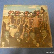 Discos de vinilo: DISCO 7 PULGADAS EP THE DELTA RYTHM BOYS MUY BUEN ESTADO GENERAL 1960. Lote 270409438