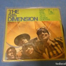 Discos de vinilo: DISCO 7 PULGADAS SINGLE FUNK SOUL THE 5TH DIMENSION CADA VEZ MAS ALTO CIERTO USO, TOLERABLE. Lote 270409458