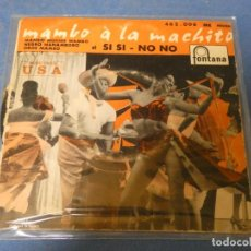 Discos de vinilo: DISCO 7 PULGADAS EP FRANCES MAMBO A LA MACHITO, CIRCA 1960 BUEN ESTADO. Lote 270409828