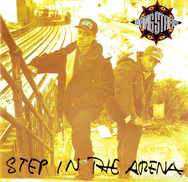 LP GANG STARR - STEP IN THE ARENA - CHRYSALIS 0946 3 21798 1 4 - REEDICION - NUEVO !!!!* (Música - Discos - LP Vinilo - Rap / Hip Hop)