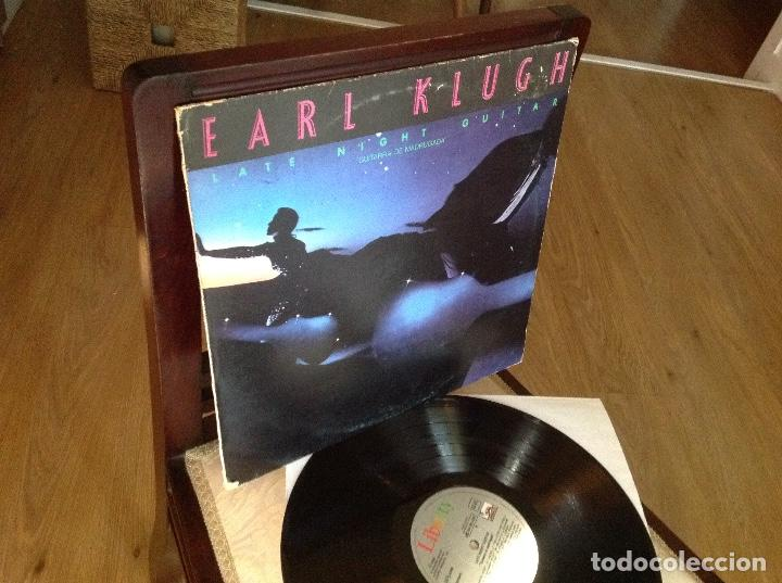 EARL KLUGH - LATE NIGHT GUITAR / GUITARRA DE MADRUGADA - LP LIBERTY 1981 SPAIN (Música - Discos - LP Vinilo - Jazz, Jazz-Rock, Blues y R&B)
