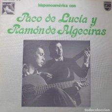 Discos de vinil: PACO DE LUCÍA Y RAMÓN DE ALGECIRAS LP SELLO PHILIPS EDITADO EN ESPAÑA AÑO 1977.... Lote 270537818