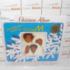 Discos de vinilo: BONEY M CHRISTMAS ALBUM (1981) (LP-VINILO) NUEVO Y PRECINTADO ENVIÓ CERTIFICADO A ESPAÑA 2 €. Lote 270540433
