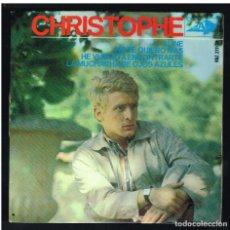 Discos de vinilo: CHRISTOPHE - ALINE / NO TE QUIERO MAS + 2 - EP 1965. Lote 270547558