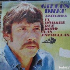 Discos de vinilo: GILLES DREU. Lote 270552423