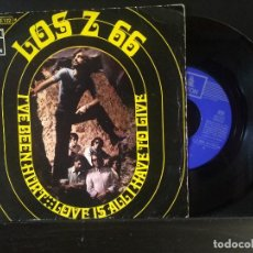 Discos de vinilo: LOS Z66 Z 66 SINGLE 45 RPM I´VE BEEN HURT EMI ODEON ESPAÑA 1970 `PEPETO. Lote 270554858