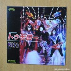 Discos de vinilo: KISS - TOMORROW - SINGLE. Lote 270555168