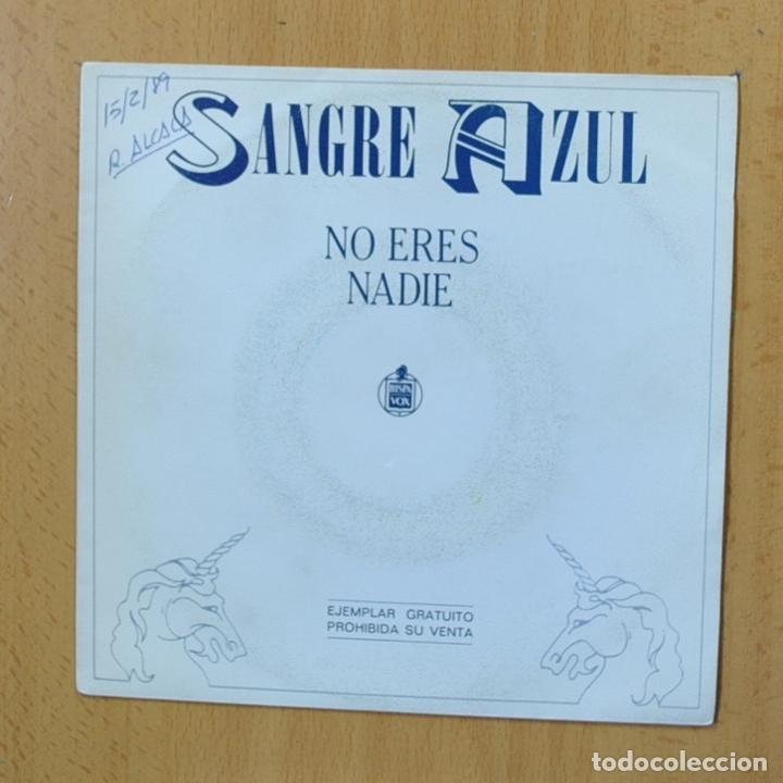 SANGRE AZUL - NO ERES NADIE - SINGLE (Música - Discos - Singles Vinilo - Heavy - Metal)