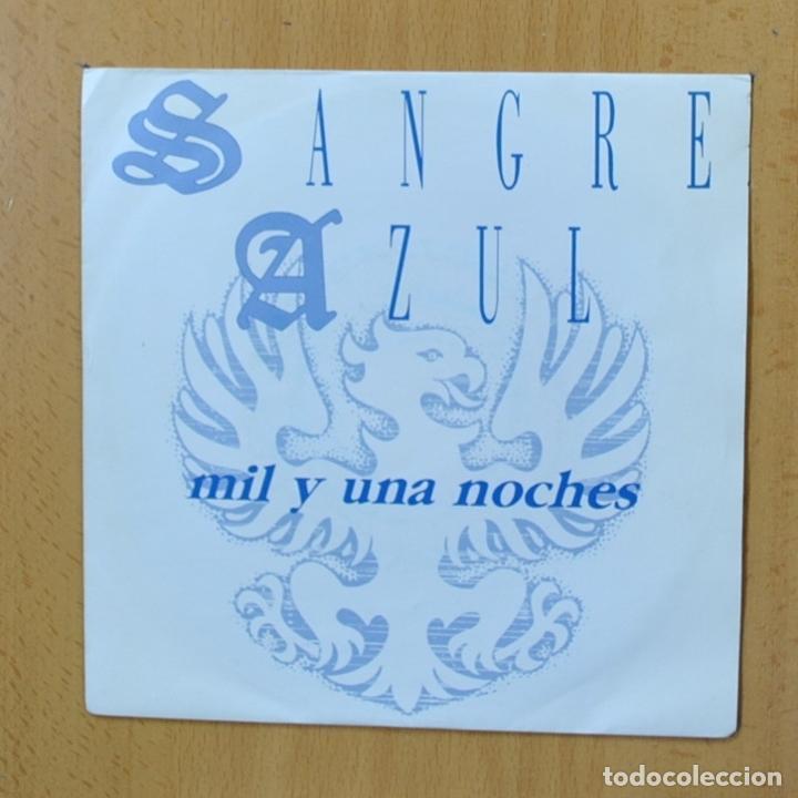 SANGRE AZUL - MIL Y UNA NOCHES - SINGLE (Música - Discos - Singles Vinilo - Heavy - Metal)