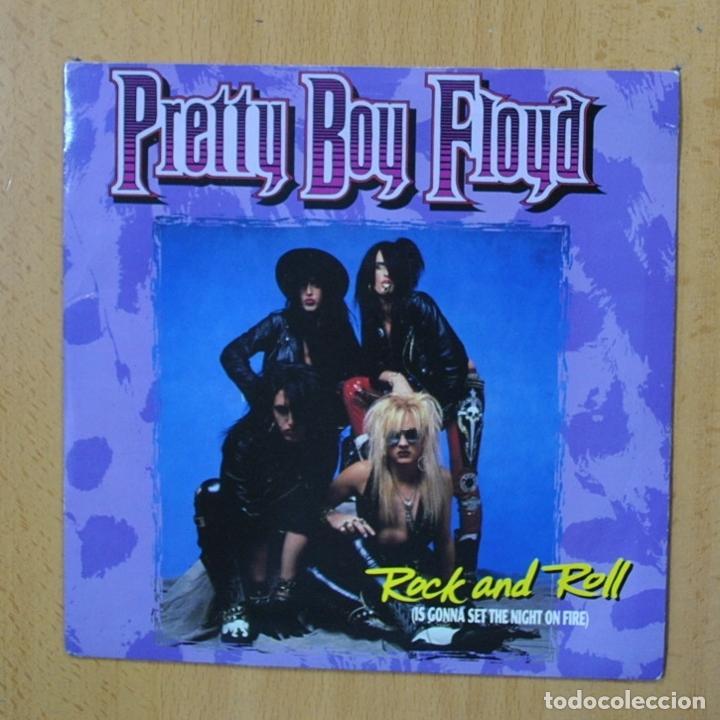 PRETTY BOY FLOYD - ROCK AND ROLL - SINGLE (Música - Discos - Singles Vinilo - Heavy - Metal)