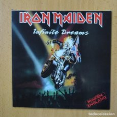 Discos de vinilo: IRON MAIDEN - INFINITE DREAMS - SINGLE. Lote 270555253