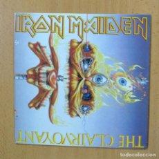 Discos de vinilo: IRON MAIDEN - THE CLAIRVOYANT - SINGLE. Lote 270555258